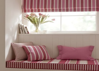 We offer Window Seat Cushions in a wide range of Fabrics