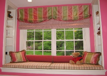 We offer Window Seat Cushions with Foam Interiors